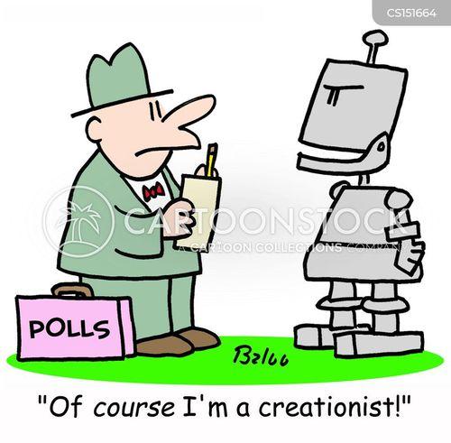 cybernetic cartoon