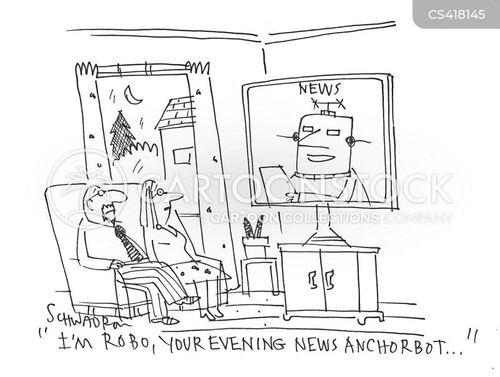 news channels cartoon