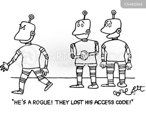 access codes cartoon