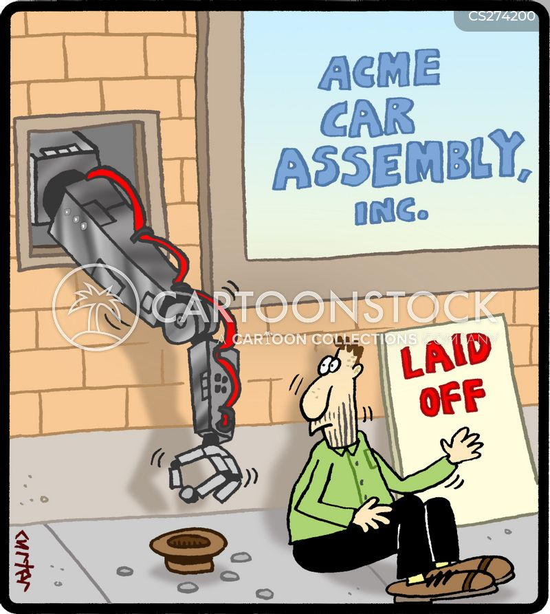 assembly line cartoon