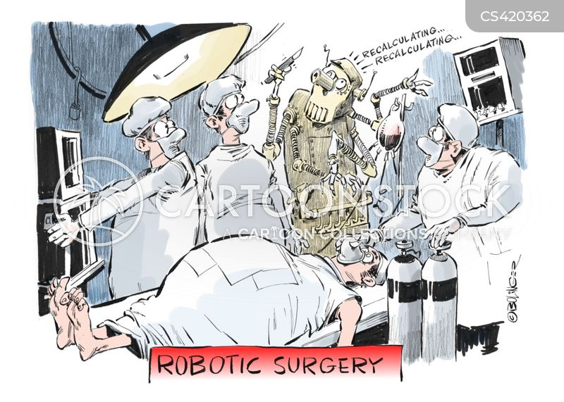 Robotically-assisted Surgery cartoons, Robotically-assisted Surgery cartoon, funny, Robotically-assisted Surgery picture, Robotically-assisted Surgery pictures, Robotically-assisted Surgery image, Robotically-assisted Surgery images, Robotically-assisted Surgery illustration, Robotically-assisted Surgery illustrations
