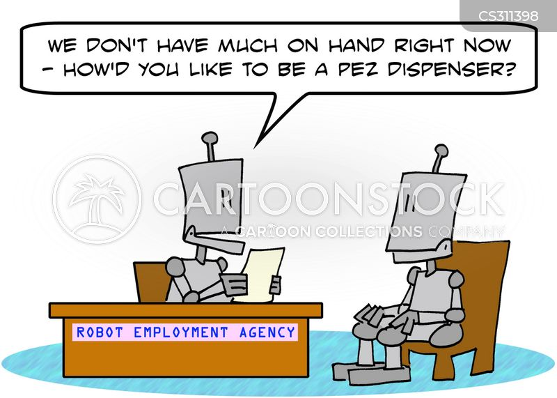 ideal jobs cartoon