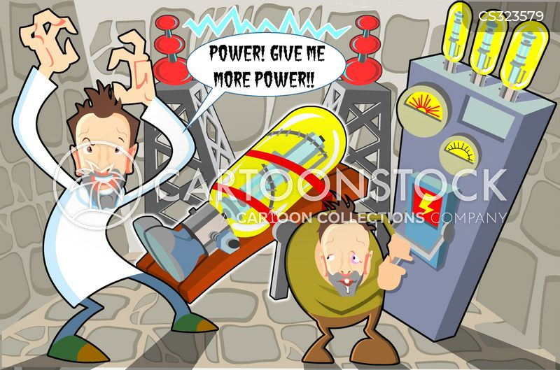 power hungry cartoon