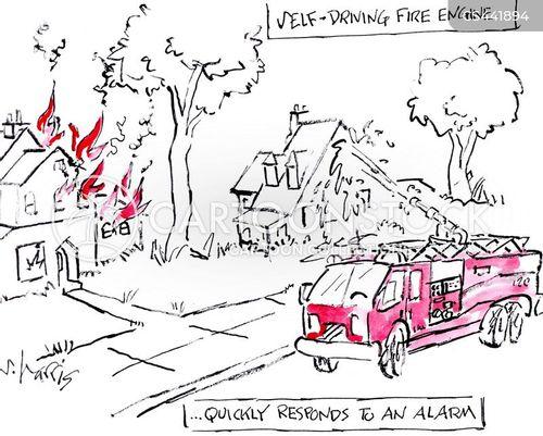 fire engine cartoon