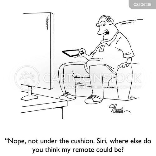 lost remote cartoon