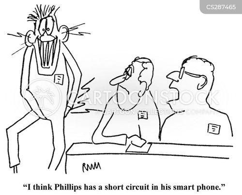 short circuit cartoons and comics