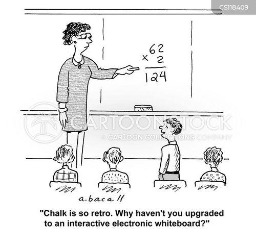 smartboard cartoon