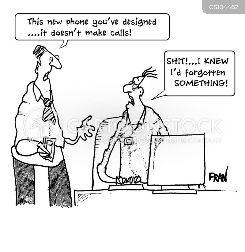 design flaw cartoon