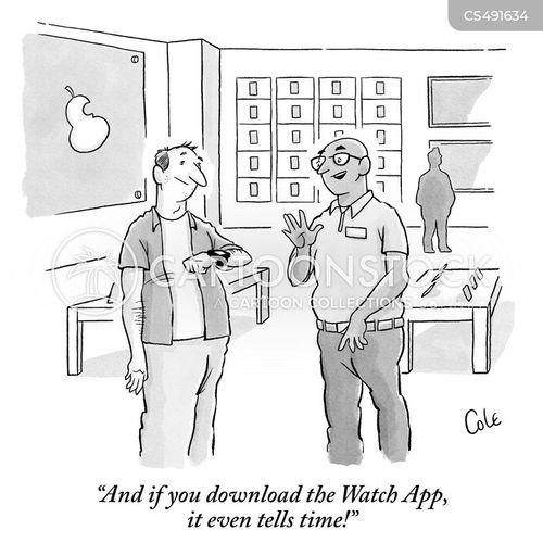 smart-watch cartoon