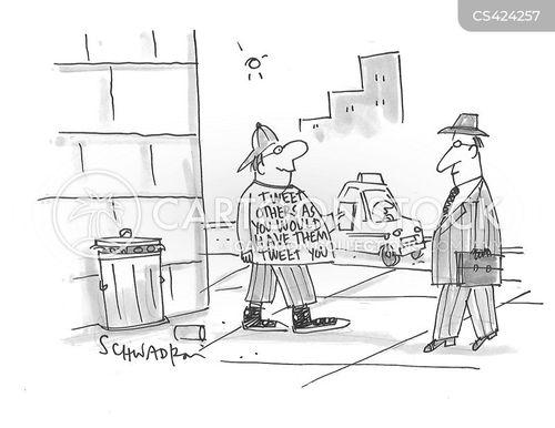 cyber bully cartoon