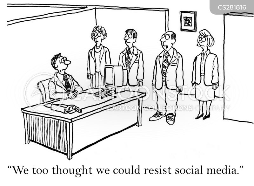 resisting cartoon