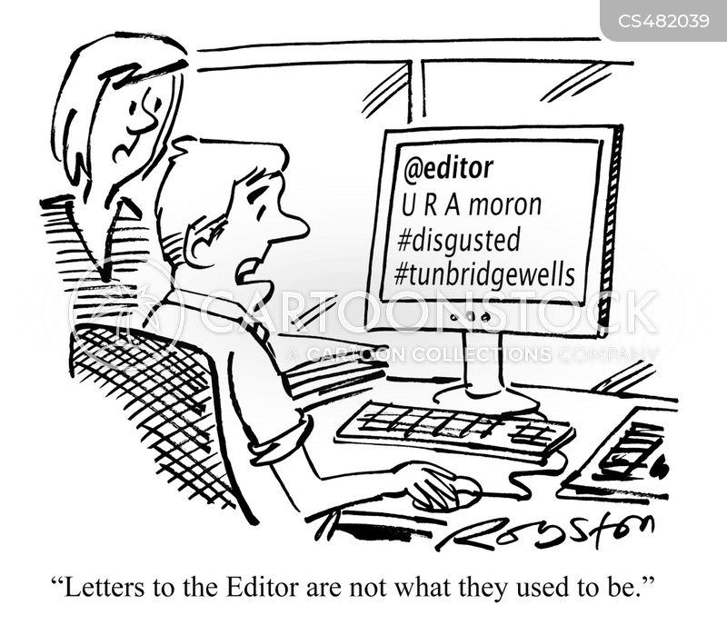 letters to the editor cartoon