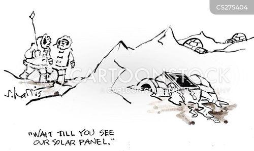 renewable energies cartoon