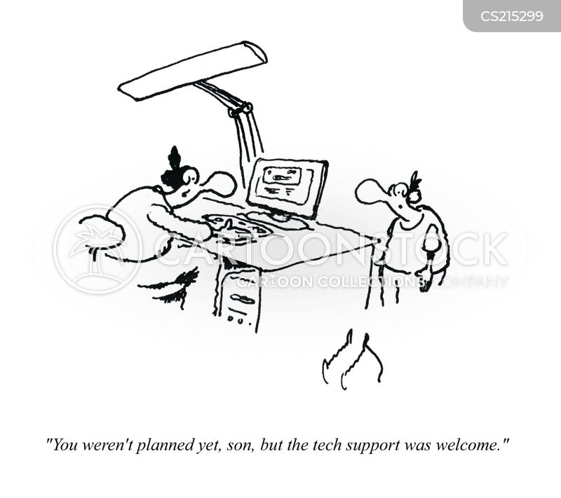 sys admin cartoon