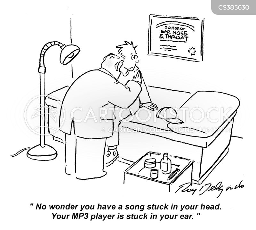 cd players cartoon