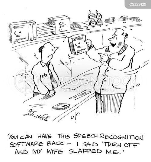 speech recognition cartoon