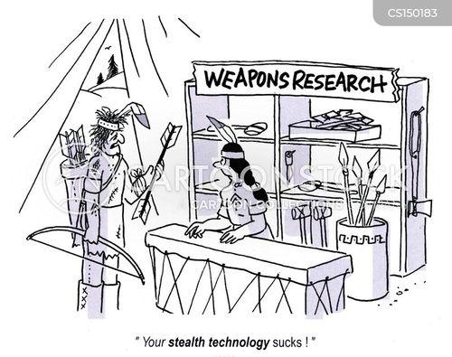 weapons developments cartoon