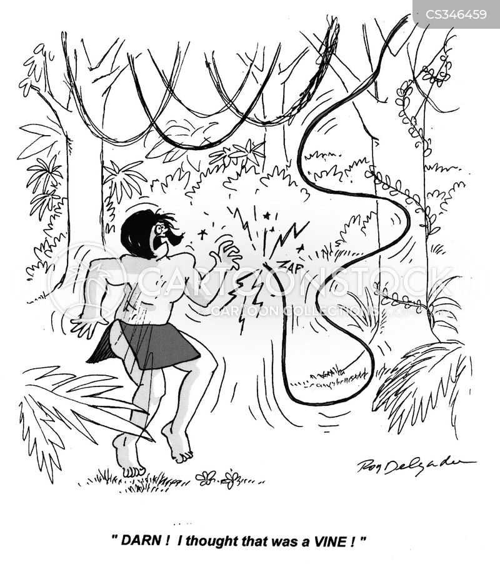 power line cartoon
