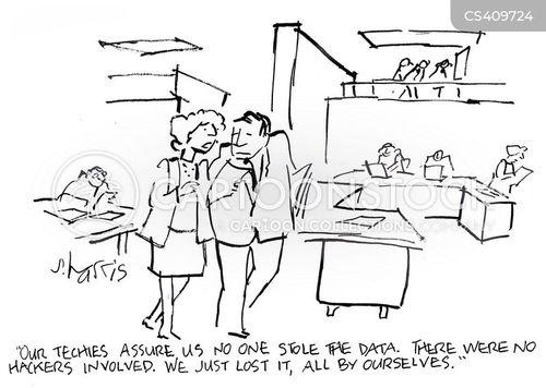 industrial espionage cartoon
