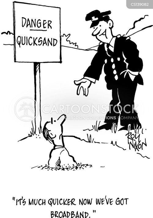 broadband internet cartoon