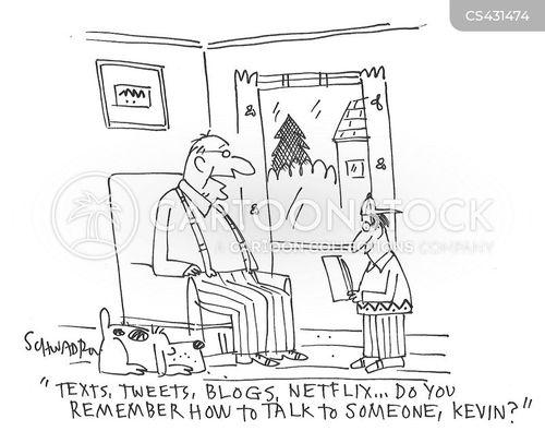 technical advancement cartoon