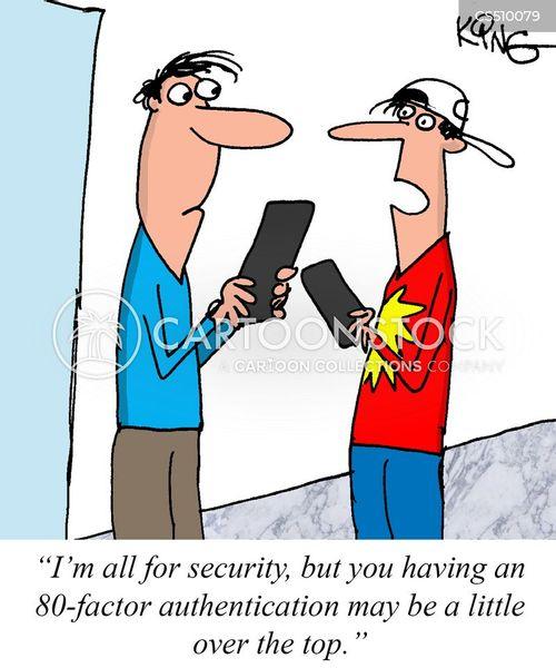 authentication cartoon