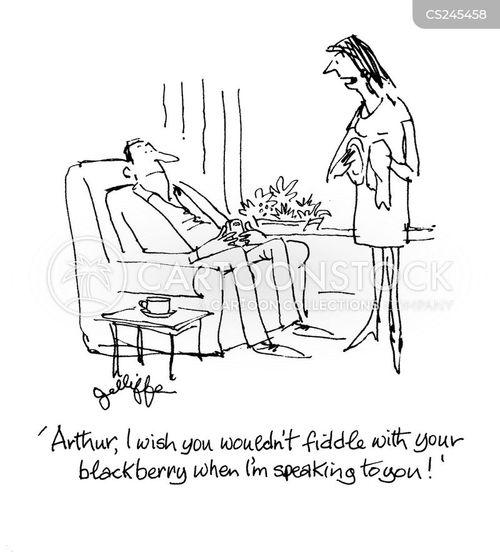 fidgeting cartoon