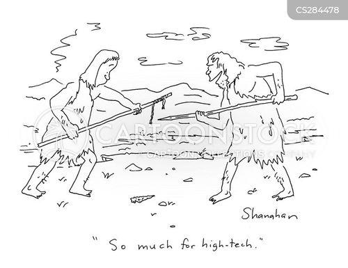 javelins cartoon