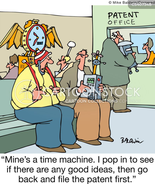 intellectual theft cartoon