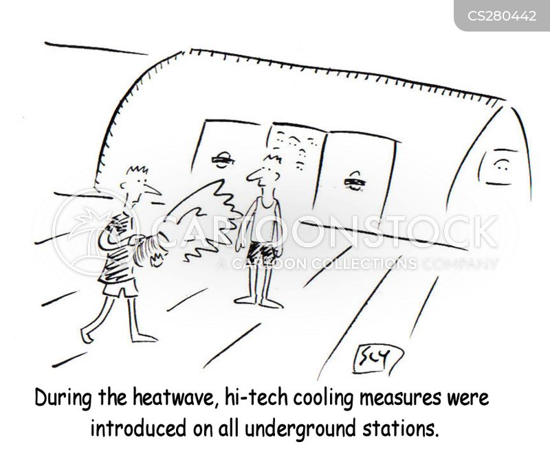 hi-tech cartoon