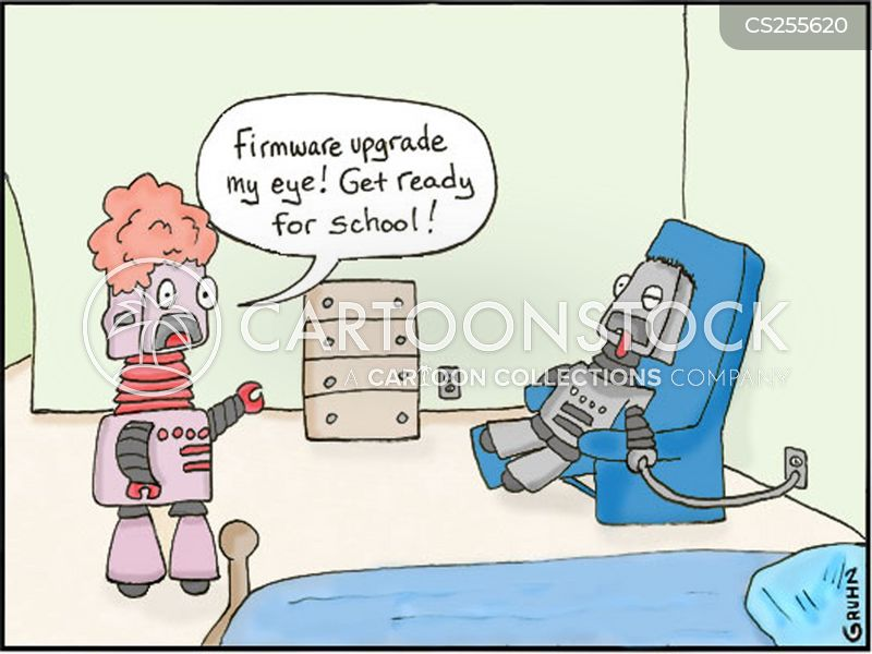 firmware cartoon