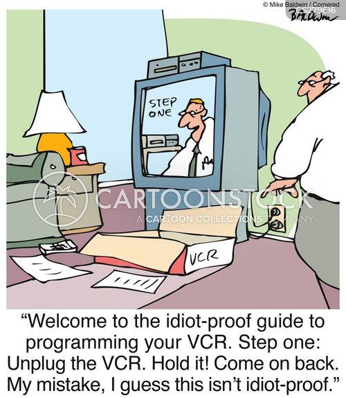 video tape cartoon