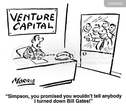 venture capital cartoon