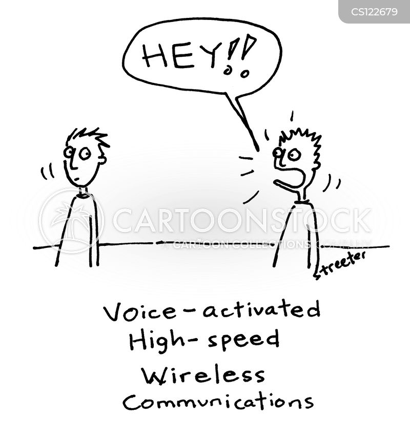 voice activated cartoon
