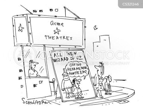 frank baum cartoon