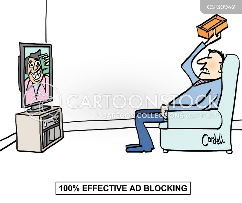 ad breaks cartoon