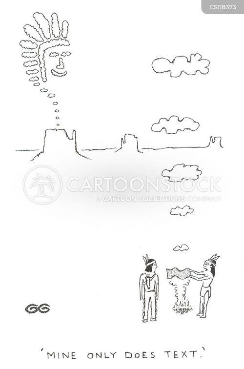 picture phone cartoon