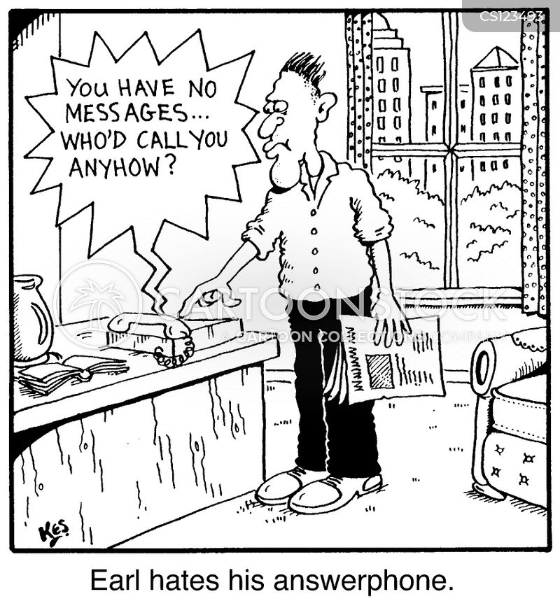 answerphones cartoon