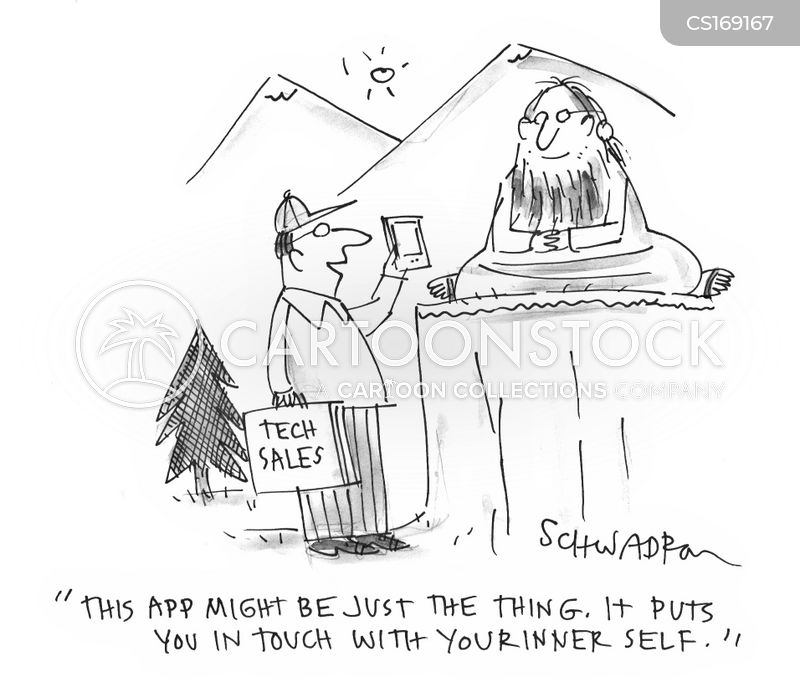 spiritual leader cartoon