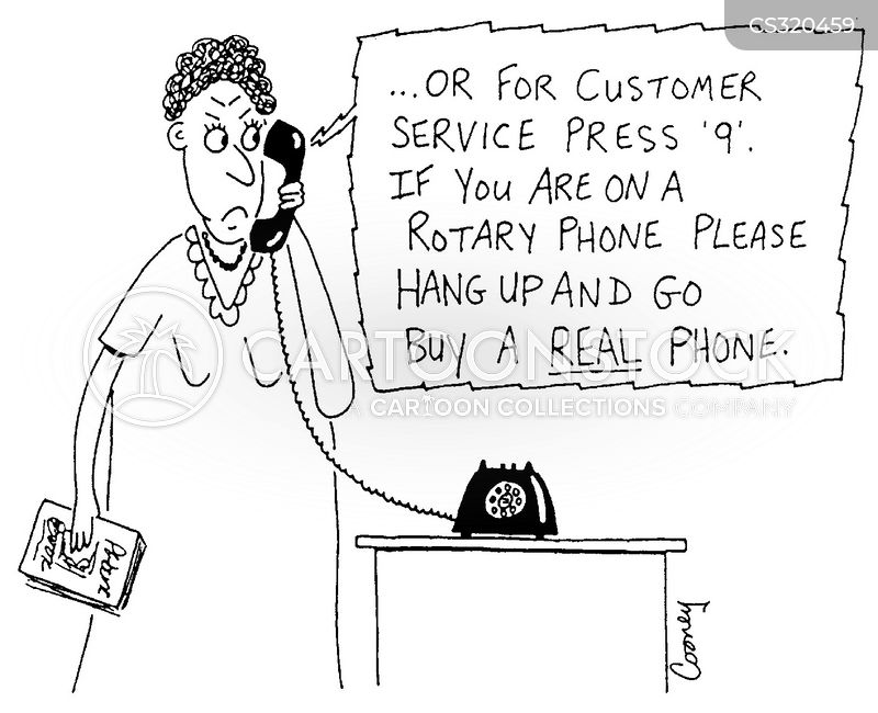 automated messages cartoon