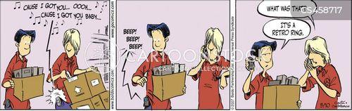 beeping cartoon