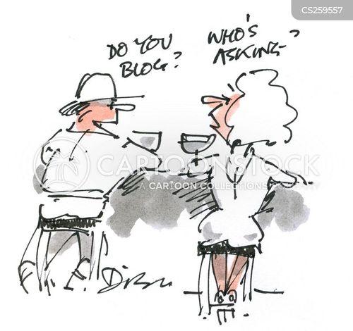personal blog cartoon