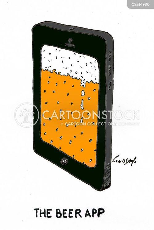 bar crawl cartoon