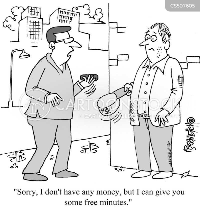 hand-outs cartoon