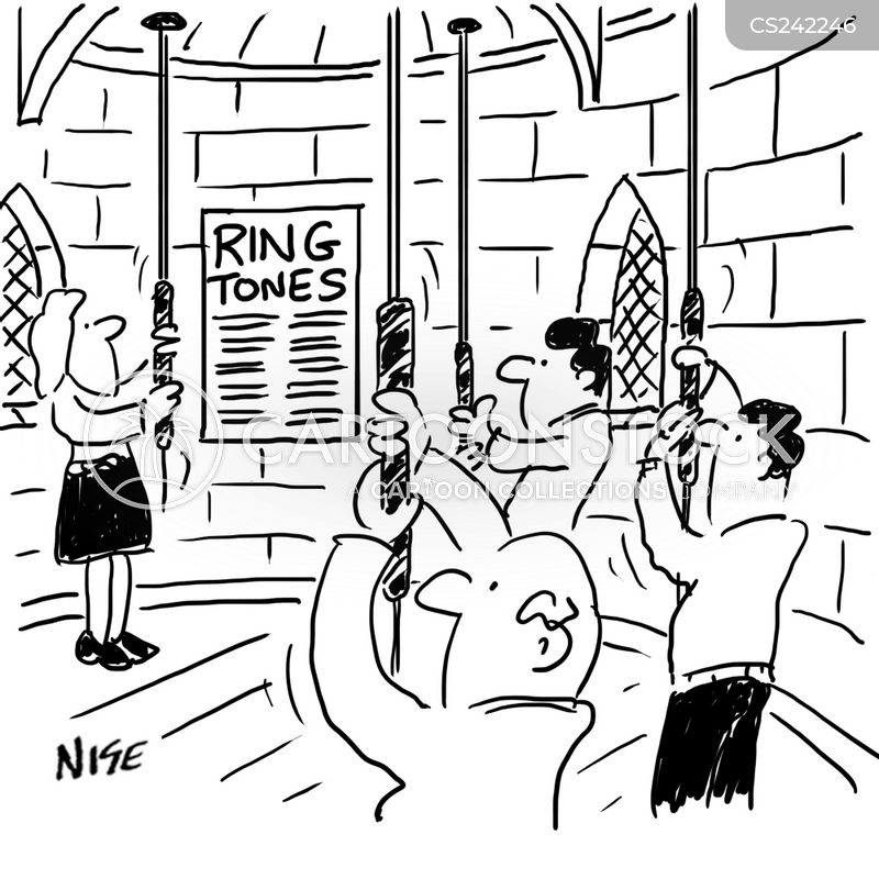 bell ring cartoon