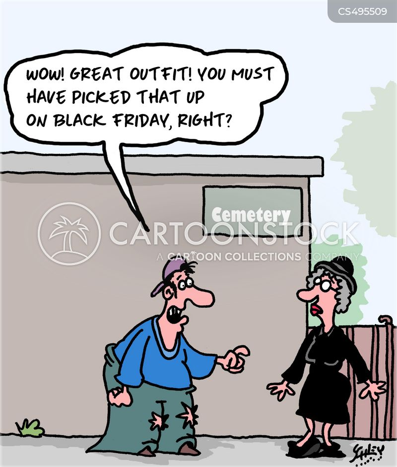 black fridays cartoon