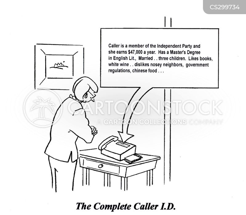 caller i cartoon