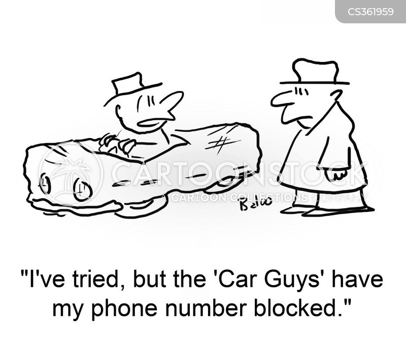 car guys cartoon