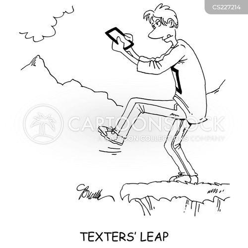 texter cartoon