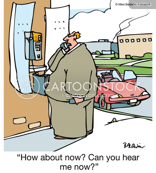 poor reception cartoon